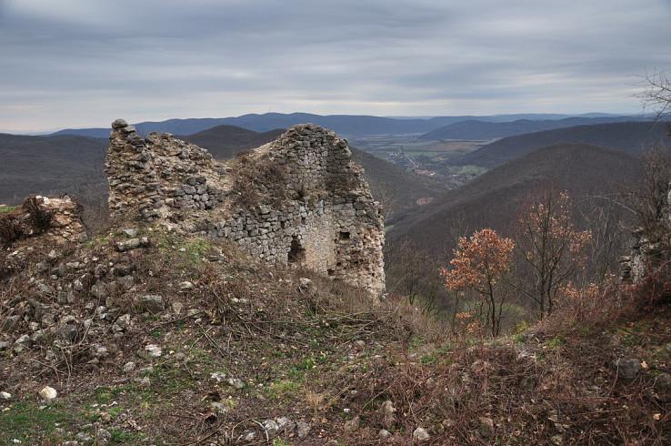 Pohľad z hradu Szádvár (autor foto: Stanislav Ďurica)