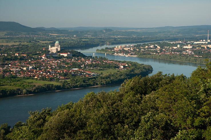 Výhľad na Ostrihom (Esztergom)