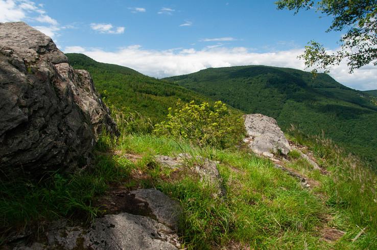 Pohľad z Ivanovho vrchu