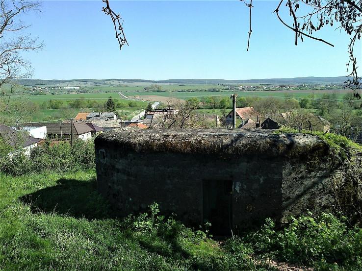 Bunker spred 2. sv. vojny v Bretke