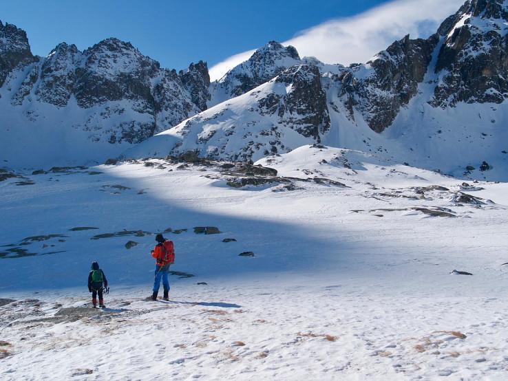 Malá Studená dolina, za Téryho chatou