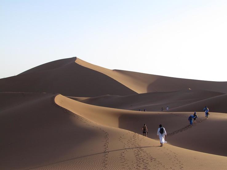 Výstup na Leviu dunu