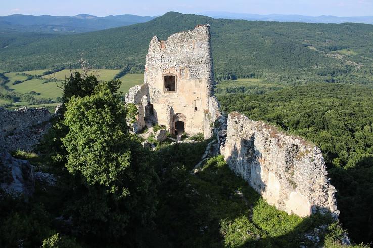 Hrad Jelenec (Gýmeš), foto Pavel Forgáč