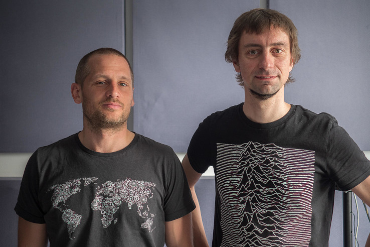 Mišo Rusina a Ľubo Mäkký. Foto – Mirek Tóda