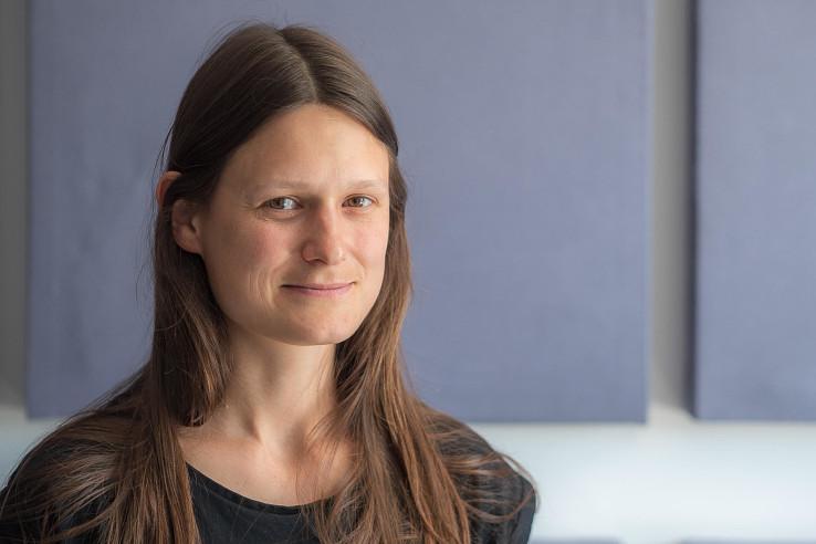Katarína Mikulová z Bratislavského regionálneho ochranárskeho združenia (BROZ). Foto – Ľubomír Mäkký