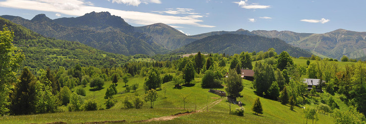 Osada Gažovci a malofatranský hrebeň