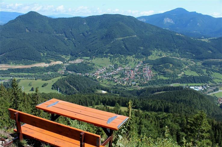 Lavička na Plieške (Tri vrchy)