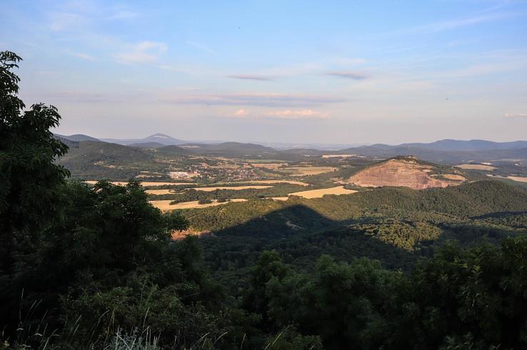 Večer na vrchu Nagy-Galla