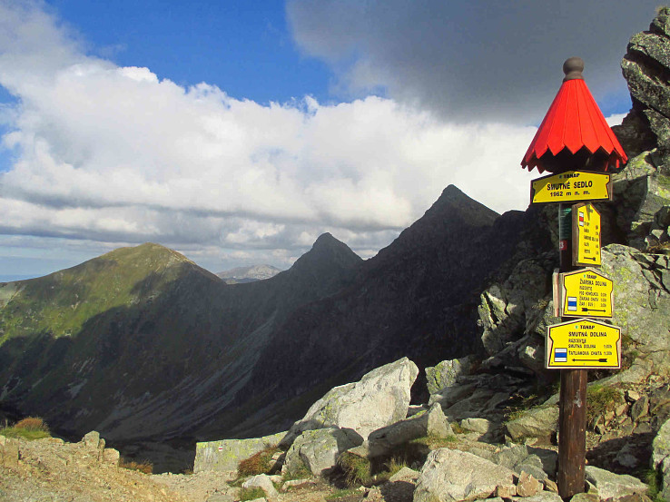 Smutné sedlo na hrebeni Roháčov. Foto – Michal Bukvai