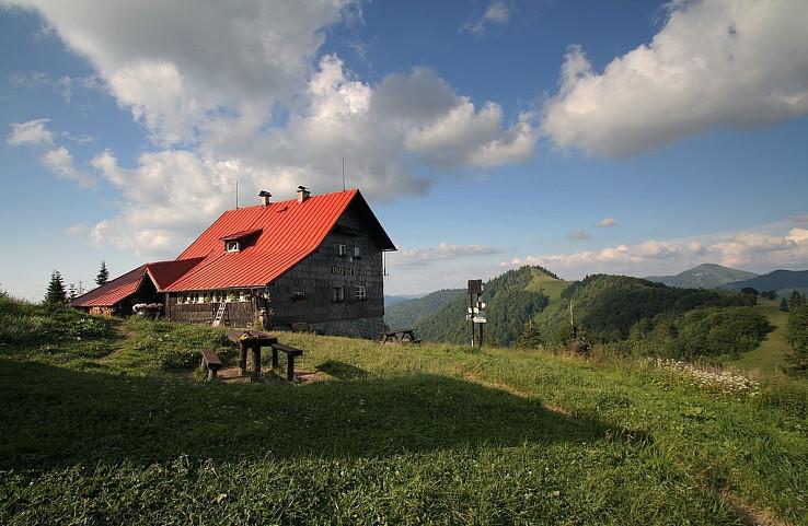 Chata pod Borisovom. Foto Ladislav Blaho
