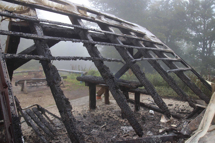 Grandhotel Partyzán zhorel 18. 9. 2021. Foto – Martin Kavecký