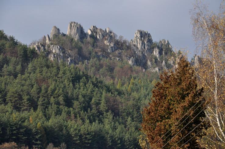 Bralá Súľovského hradu