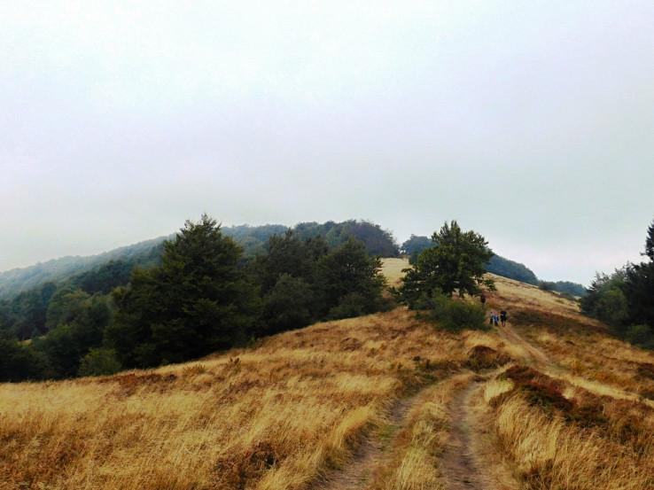 Po hrebeni Čergova