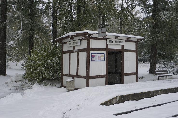 Do Tatier dorazila zima
