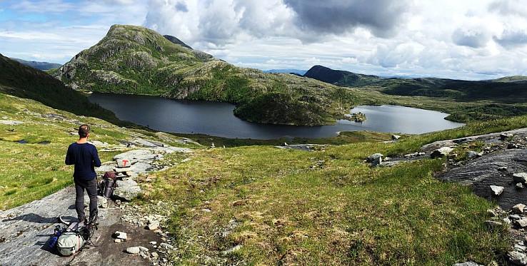 Jazero Skardvatnet
