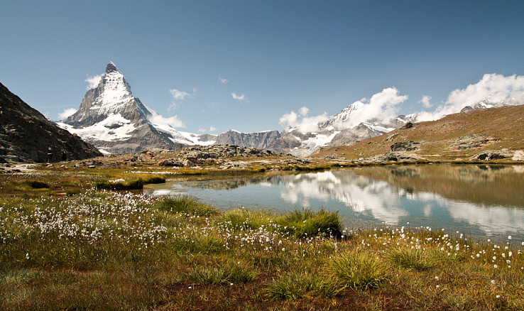 Matterhorn od Riffelsee