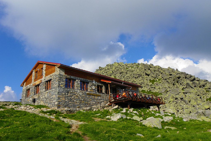 Kamenna chata v roku 2014