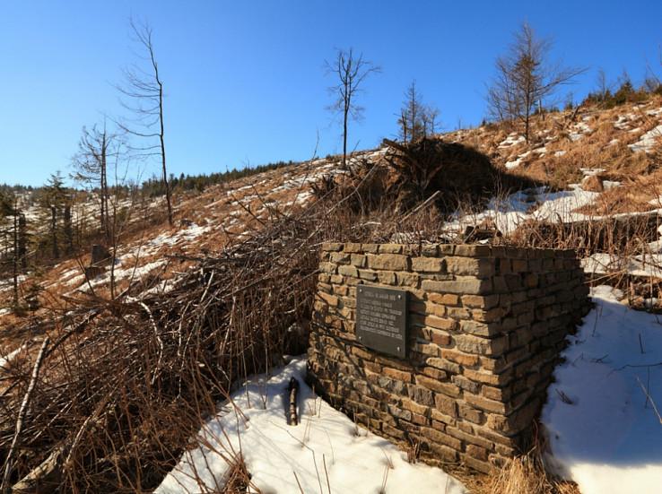 Pamätník obetiam leteckého nešťastia na Škapovej
