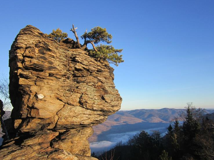 Na vrchole Hoher Steinu