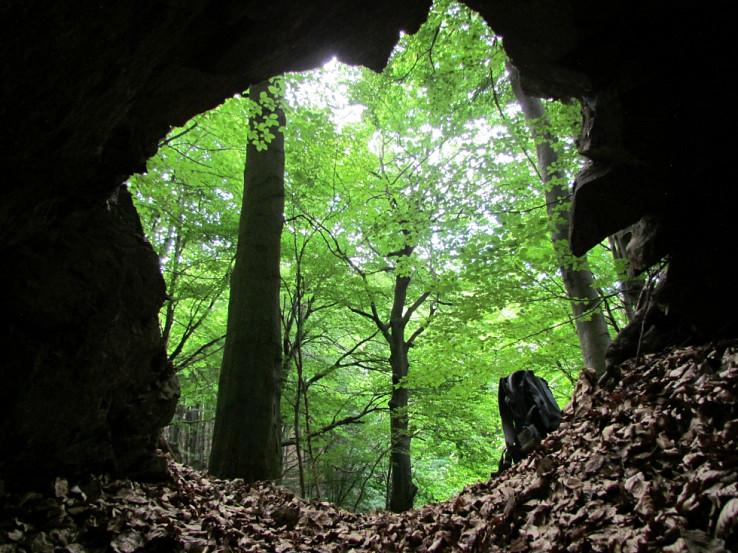 Pohľad z podzemia na svet vonku