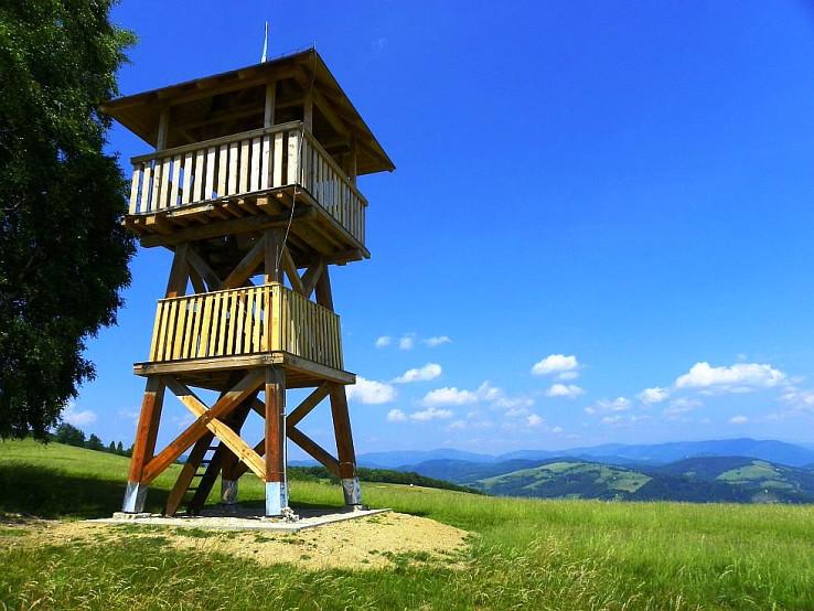 Rozhľadňa na Slopove (autor foto: Tomáš Trstenský)