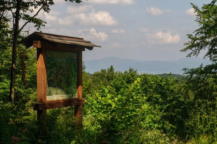 Vyhliadka na Slanské vrchy