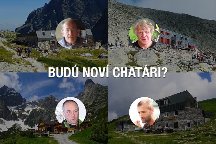 Edo Záhor zo Zbojníčky, Viktor Beránek z Chaty pod Rysmi, Tomáš Petrík z Brnčalky a Igor Fabricius zo Štefáničky