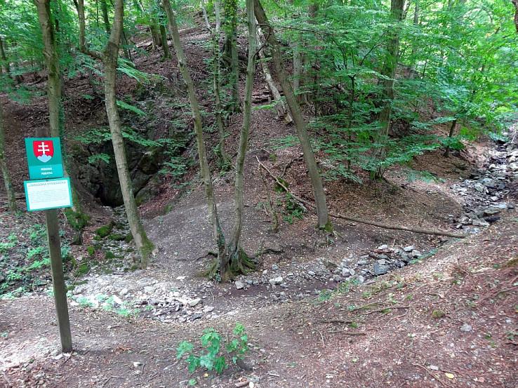 Limbašská vyvieračka 10. zastavenie Sandbersko-pajštúnskeho geoparku
