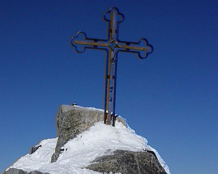 Vrcholový kríž na Gerlachovskom štíte