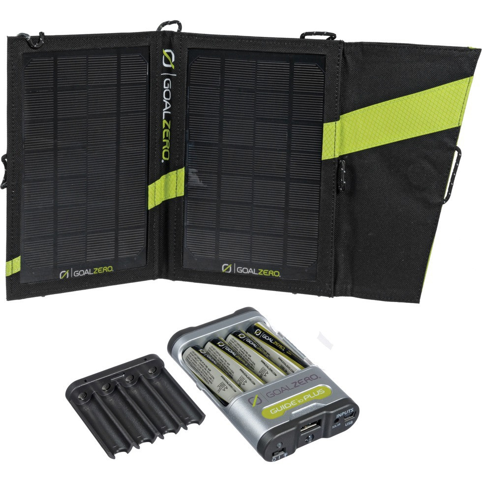 Solárna sada Goal Zero Guide 10 Plus Solar Recharging Kit 7W 2300mAh 2v1