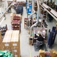 Obuvnícka továreň Hanwag v Nemecku