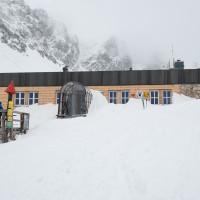 Zbojnícka chata v zime