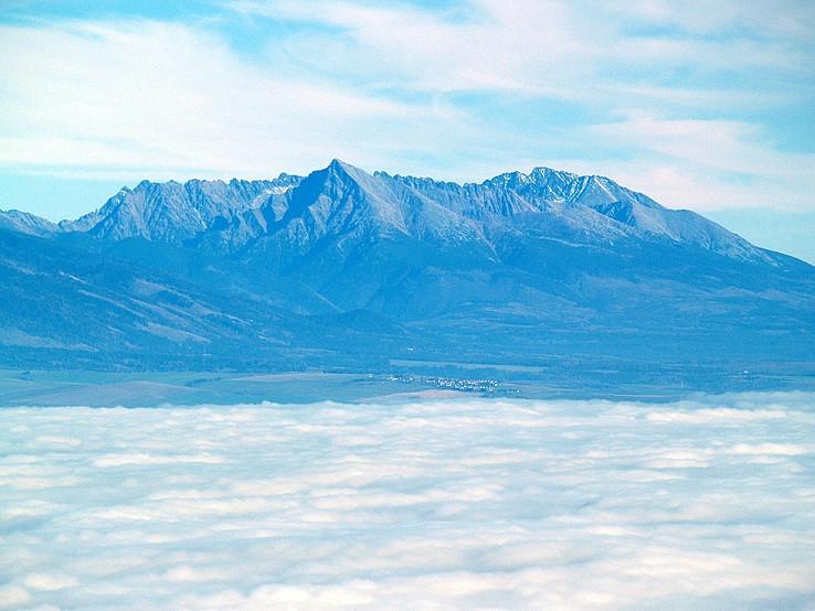 Vysoké Tatry zo Šípskej Fatry
