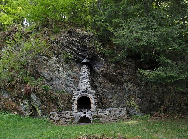 Krb v skale