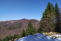 Malebné kopčeky už bez snehu
