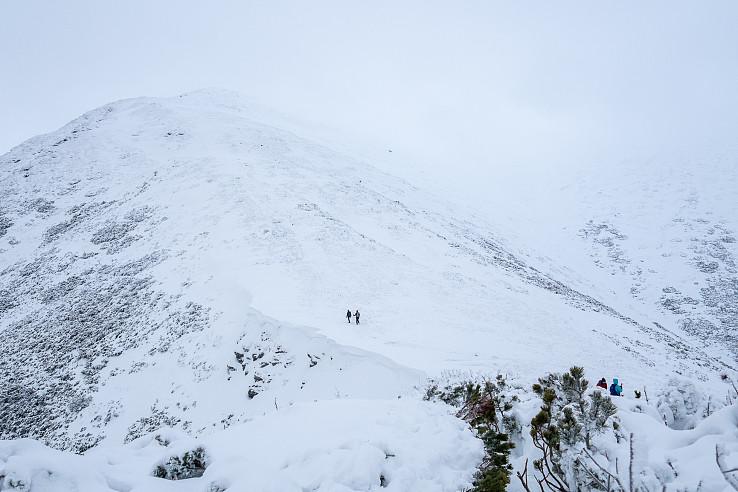 V Zime na Baranec