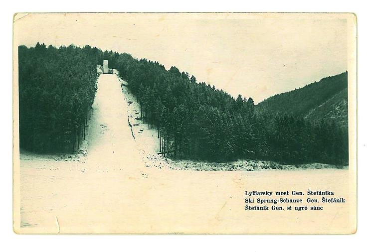 Skokanský mostík M.R. Štefánika v B.Bystrici