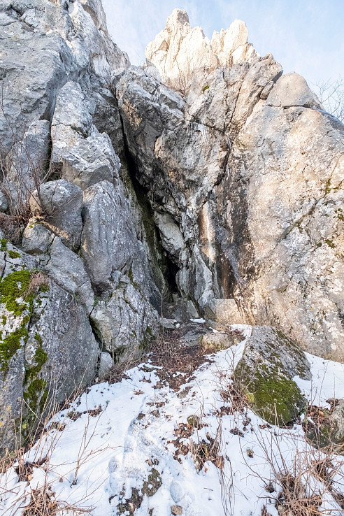 jaskyňa v Havranej skale