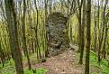 Skalny stlp na ceste na Bezovec