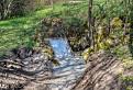 Zbojnícka jaskyňa pri obci Chtelnica - vstup