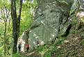 schované skaly pod Rozbehmi