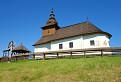 Drevený chrám svätého Jána Krstiteľa v Kalnej Roztoke