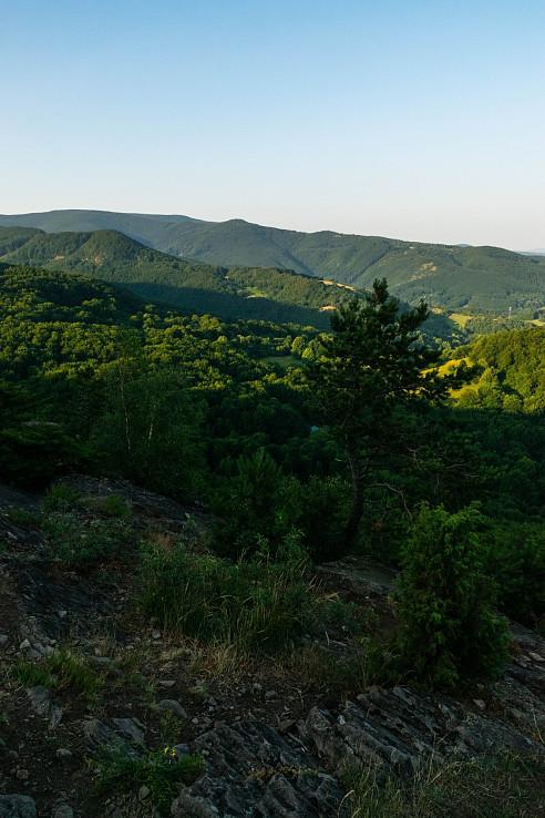 ráno na Jančekovej skale
