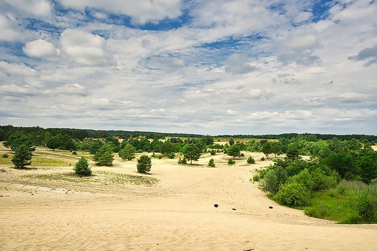 Slovenská púšť na Vanišovci