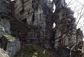 skalné okná na Veľkom Lysci