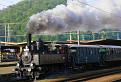 Mimoriadny vlak smer Hronec