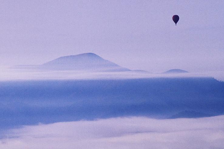 Veľká Vápenica a balón