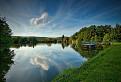 popoludnie pri Grinavských jazerách