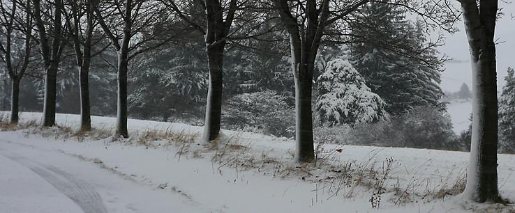 Zima na Háji
