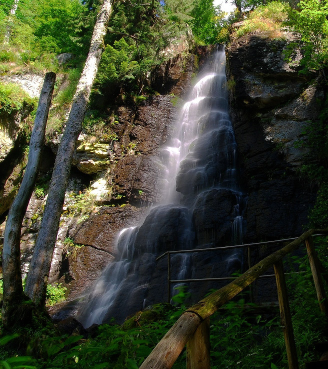 Vodopad Bystre